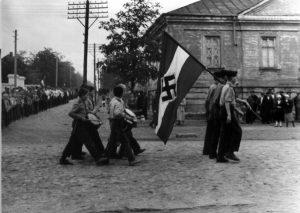 Volksdeutsche youth in Molotschna, 1942